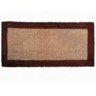 Tapis coco sur mesure Bordure imprimée