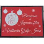 Tapis publicitaire Mairie Vallauris